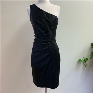 Calvin Klein black cocktail dress